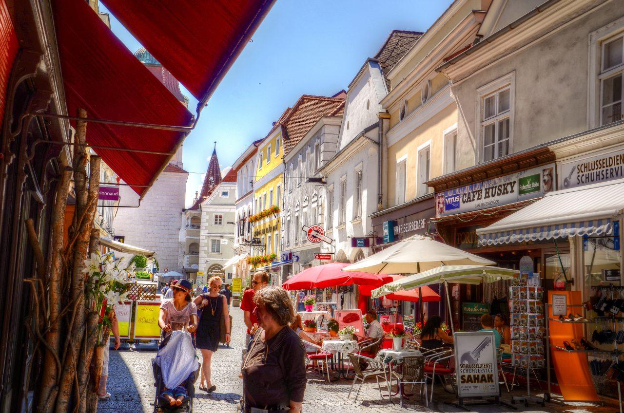 Улица в Австрии