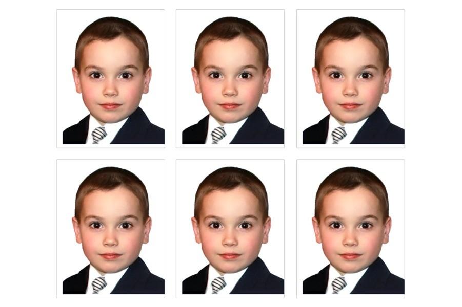 Пример фото на паспорт для несовершеннолетнего