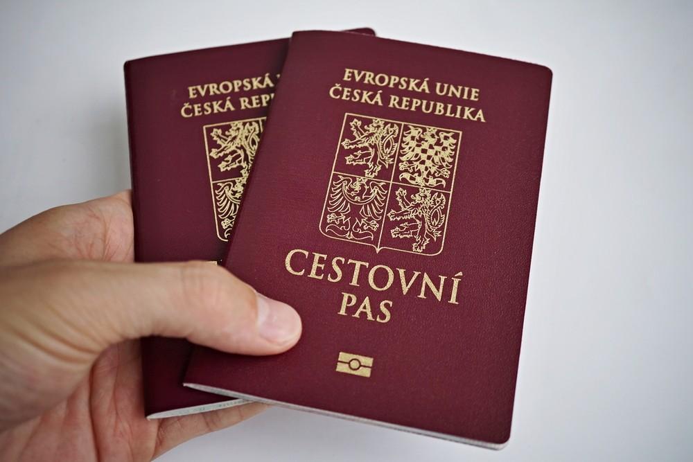 Паспорт Чехии