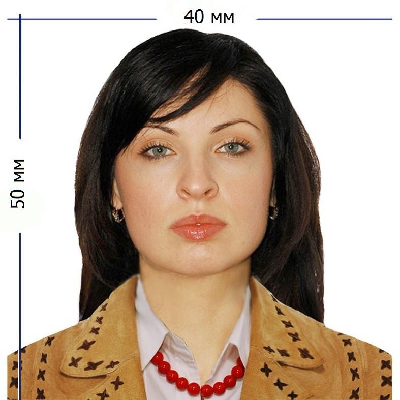 Пример фото на паспорт РБ