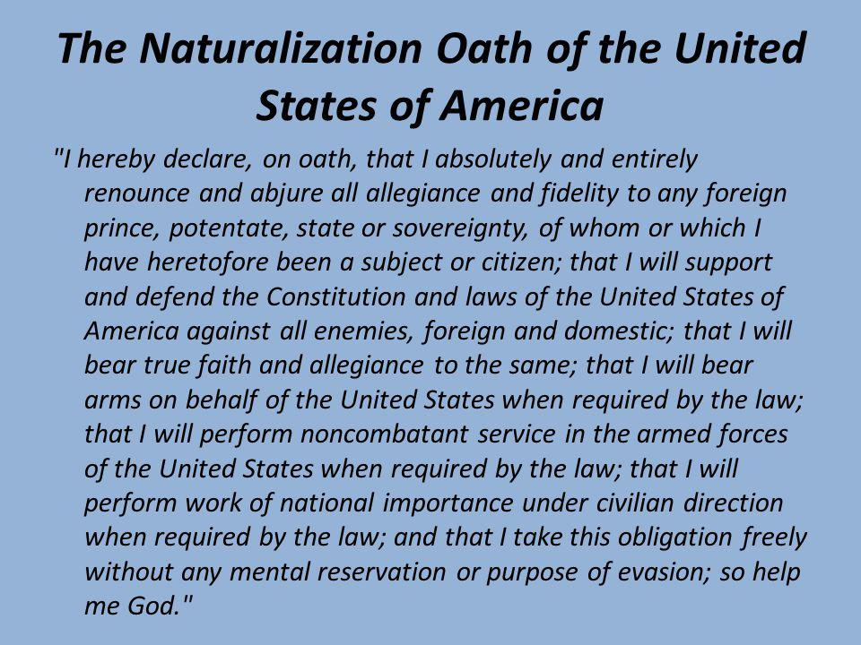 Клятва верности США