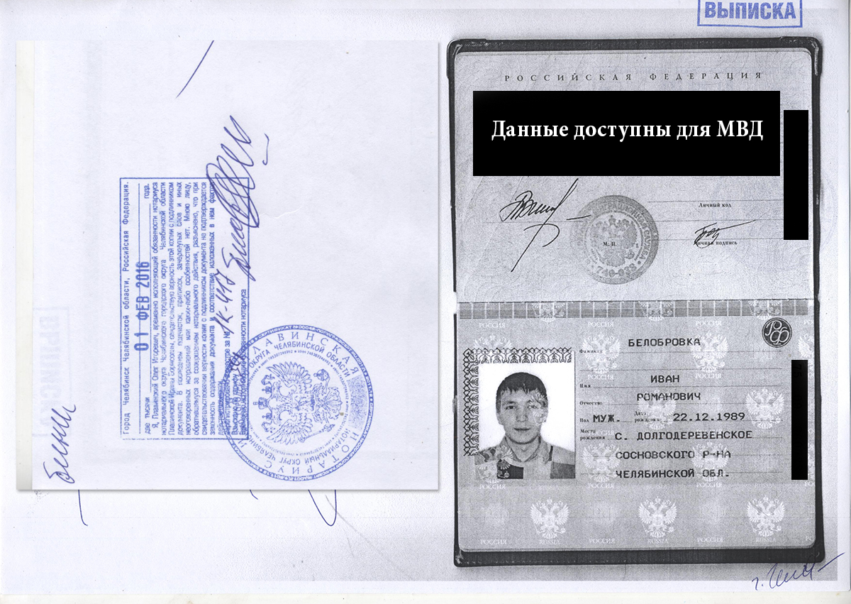заверенная копия паспорта